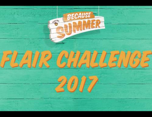 【フレア動画】『MALIBU BECAUSE SUMMER Flair Challenge 2017』の大会動画を掲載しました。