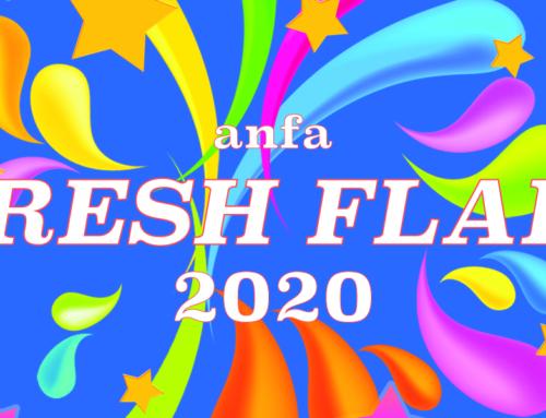 ライブ配信します! anfa【FRESH FLAIR 2020】03/01(日) 12:00~